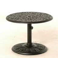 "Hanamint Chateau 30"" Round Umbrella Side Table"