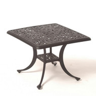 "Hanamint Chateau 24"" Square Tea Table"