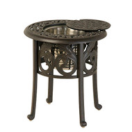 "Hanamint Chateau 20"" Round Ice Bucket Side Table"