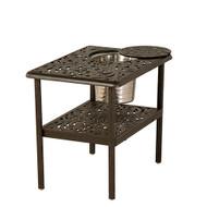 Hanamint Chateau Rectangular Ice Bucket Table