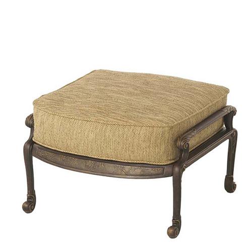 Hanamint St Moritz Ottoman Southern Outdoor Furniture