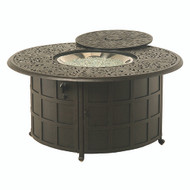 "Hanamint Chateau 48"" Round Enclosed Gas Fire Pit"