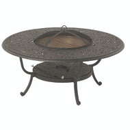 "Hanamint Chateau 48"" Round Fire Pit Table"