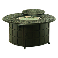 "Hanamint Tuscany 48"" Round Enclosed Gas Fire Pit"