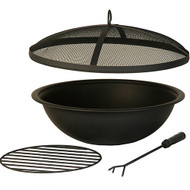 Hanamint Black Painted Steel Bowl Accessories