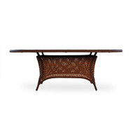 LLoyd Flanders Grand Traverse Oval Umbrella Table