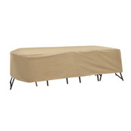 Adco Oval or Rectangular Bar Height Table and Chair Cover