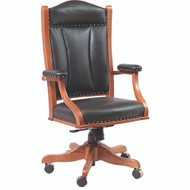 Amish Handcrafted Desk Chair