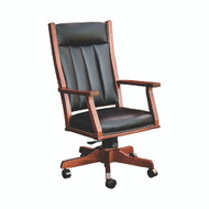 Amish Handcrafted Mission Office Chair