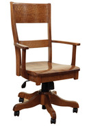 Amish Handcrafted Jamestown Office Chair