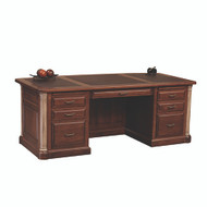 Amish Handcrafted Jefferson Executive Desk XL
