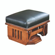 Amish Handcrafted Mission Ottoman