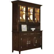 Amish Handcrafted Larkspur Hutch
