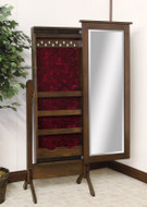 Amish Handcrafted Traditional Shaker Jewelry Mirror