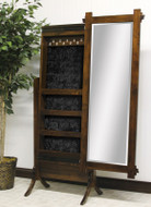 Amish Handcrafted Hartford Jewelry Mirror
