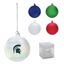 Frosted Glass Ornament