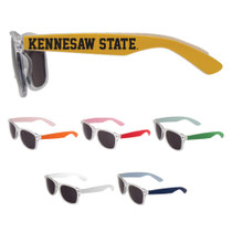 Clear Front /Painted Arm Sunglasses