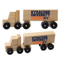 Wood Semi Truck