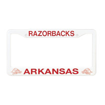 Plastic Molded License Plate Frame