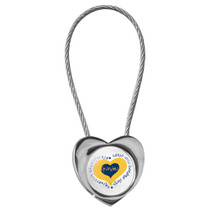 Heart Rope Keytag