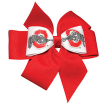 USA Fan Hair Bow