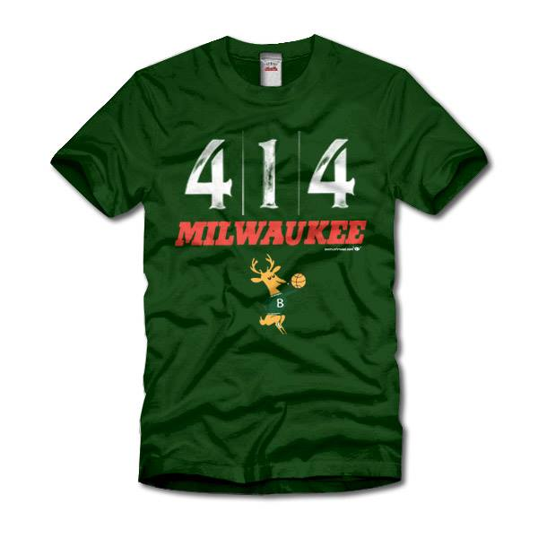 Milwaukee Bucks 414 Milwaukee Originals