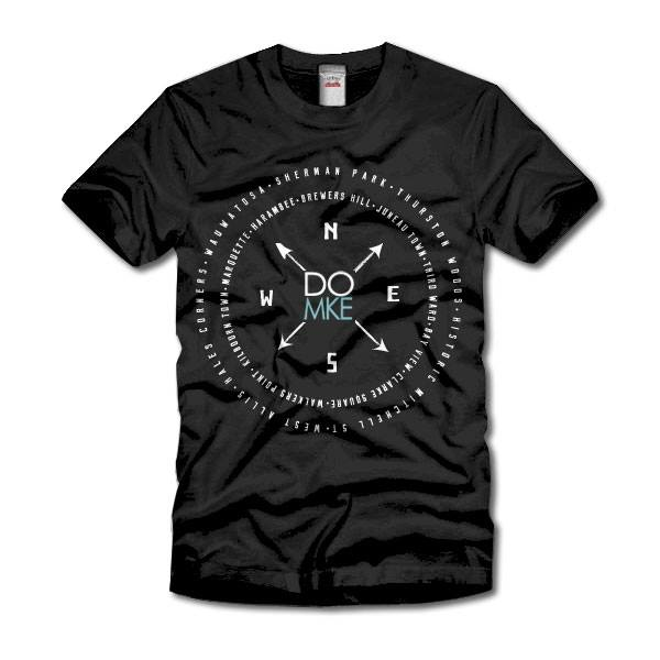 Doors Open Milwaukee Compass neighborhood t-shirt
