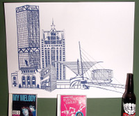 Limited Edition Milrockee poster MAM Calatrava
