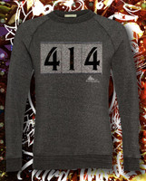 Mens 414 Crew fleece