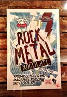 Rock Metal Xocoatl Show Poster