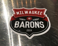 Milwaukee Barons Sticker