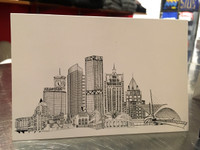 Milwaukee Skyline Postcard