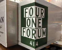 Four One Forum Sticker