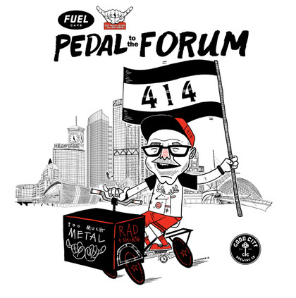 On Sunday November 4th, Fuel Cafe and Too Much Metal are partnering to Pedal to the Forum when the Milwaukee Bucks take on the Sacramento Kings. The bike ride departs from Fuel 5th Street at 1PM to the Fiserv Forum, and the basketball game tips off at 2:30PM. For $50 participants will receive: 1 ticket to the game, 1 pair of Too Much Metal Cream City socks and 2 Good City Brewing beers. Fuel and Too Much Metal will hold an additional 4 viewing parties: December 21st 2018, January 27th 2019, March 17th, 2019 and April 4th 2019 at Fuel 5th Street. Merchandise will be available from Too Much Metal, beer from Good City Brewing and selected swag from the Milwaukee Bucks during the viewing parties.