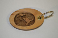 3D Mallards Key Ring