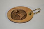 3D Mallards Key Ring