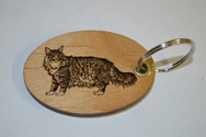 Cat 1 Key Ring