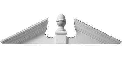 Acorn Pediment