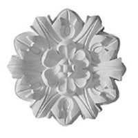 """7 5/8""""OD x 1""""P Emery Leaf Ceiling Medallion"""