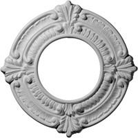 "9""OD x 4 1/8""ID x 5/8""P Benson Ceiling Medallion"