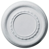 """12 5/8""""OD x 6""""ID x 1 1/8""""P Federal Roped Small Ceiling Medallion"""
