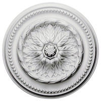"15 3/4""OD x 2""ID x 1 7/8""P Chester Ceiling Medallion"