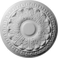 "15 3/4""OD x 3 1/4""ID x 1 1/2""P Colton Ceiling Medallion"