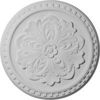 """16 7/8""""OD x 5/8""""P Emeryville Ceiling Medallion"""