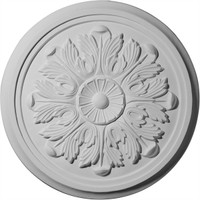 "17 7/8""OD x 1 1/8""P Large Legacy Acanthus Ceiling Medallion"