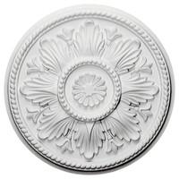 """18""""OD x 5 1/2""""ID x 1 3/4""""P Edinburgh Ceiling Medallion"""