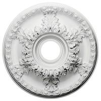 "18""OD x 3 1/2""ID x 1 3/4""P Granada Ceiling Medallion"