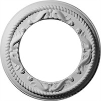 """12 1/4""""OD x 7 1/2""""ID x 7/8""""P Roped Medway Ceiling Medallion"""