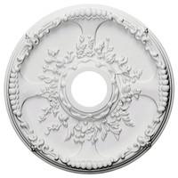 """18""""OD x 3 1/2""""ID x 1 3/8""""P Antioch Ceiling Medallion"""