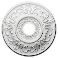 """18""""OD x 3 1/2""""ID x 1""""P Valletta Ceiling Medallion"""